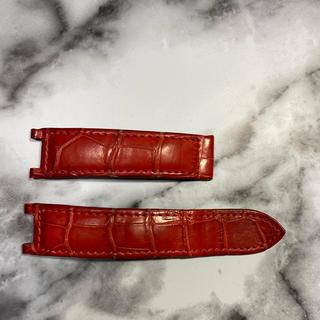 カルティエ(Cartier)のカルティエ パシャ38mm クロコウォッチベルト(レザーベルト)