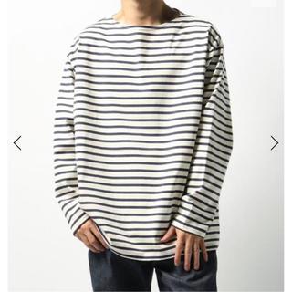 コモリ(COMOLI)のL'ECHOPPE 【LE / エルイー】バスクシャツ WIDE サイズL(Tシャツ/カットソー(七分/長袖))
