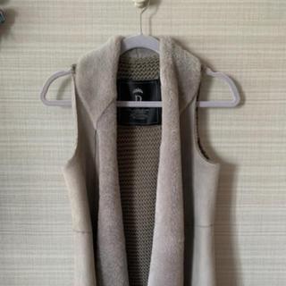 ダブルスタンダードクロージング(DOUBLE STANDARD CLOTHING)のダブルスタンダードクロージング ベスト レザー(毛皮/ファーコート)