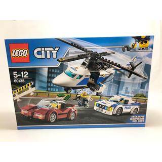 Lego - 【新品未開封】レゴ シティ ポリスヘリコプターとポリスカー 60138