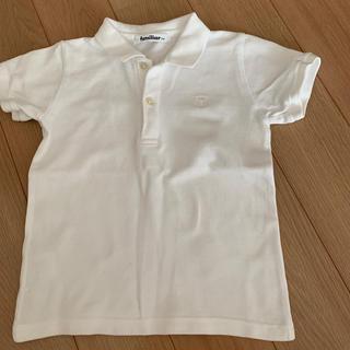 ファミリア(familiar)の新品に近い ファミリア 100 白 ポロシャツ(Tシャツ/カットソー)