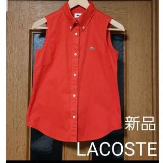 ラコステ(LACOSTE)のLACOSTE ラコステ新品 ノースリーブシャツ(シャツ/ブラウス(半袖/袖なし))