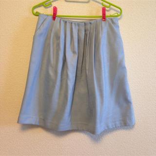 ロペピクニック(Rope' Picnic)の値下げ 新品未使用 ロペピ 水色スカート(ひざ丈スカート)