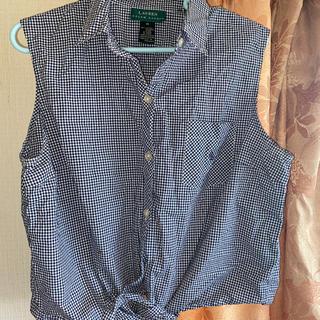 ラルフローレン(Ralph Lauren)のポロラルフローレノースリーブシャツ(シャツ/ブラウス(長袖/七分))