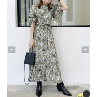 L'Appartement DEUXIEME CLASSE - 定価3.8万 L'Appartement Flower Print モダンドレス