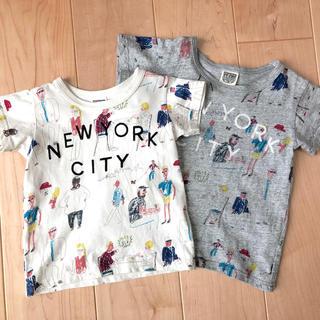 F.O.KIDS - F.O.KIDS 2枚セット 100 120 Tシャツ 半袖