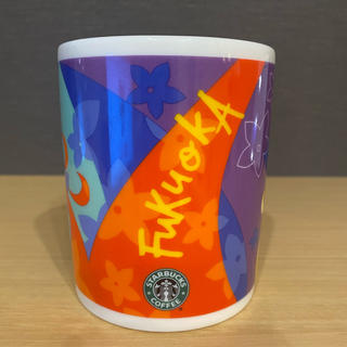 スターバックスコーヒー(Starbucks Coffee)のスターバックス ご当地マグカップ 福岡(グラス/カップ)