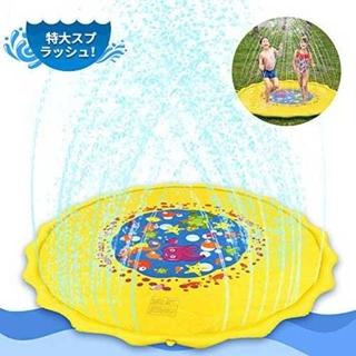 噴水マット こども用 TAKU STORE 噴水おもちゃ ビニールプール プレイ