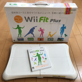 Wii - Wii fit plus バランスボードセット