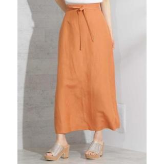 プロポーションボディドレッシング(PROPORTION BODY DRESSING)のプロポーションボディードレッシング シルエットスカート 新品 2S(ロングスカート)