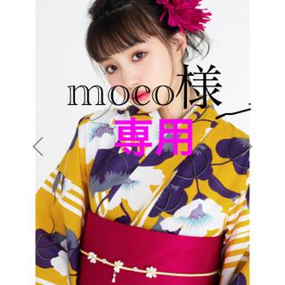 グレイル(GRL)のmoco様専用 ♡翌日発送♡ GRL 浜茄子浴衣(浴衣)