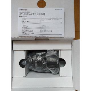 フジフイルム(富士フイルム)の新品未使用 xf16-80mm f4 富士フイルム 保証付き(レンズ(ズーム))