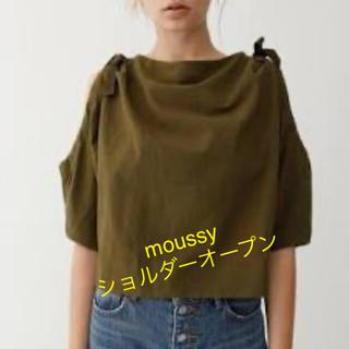 マウジー(moussy)のmoussy♡トップス(シャツ/ブラウス(半袖/袖なし))