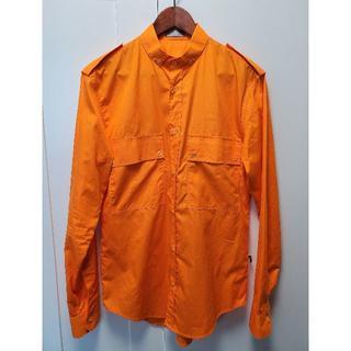 DIOR HOMME - エディ期 2006SS ディオールオム ミリタリーシャツ 長袖 オレンジ 39
