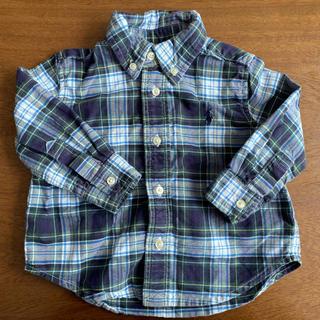 ラルフローレン(Ralph Lauren)のラルフローレン チェックシャツ ベビー/キッズ(シャツ/カットソー)