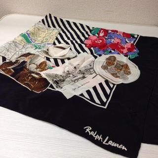 ラルフローレン(Ralph Lauren)の美品♡ラルフローレン  スカーフ(バンダナ/スカーフ)