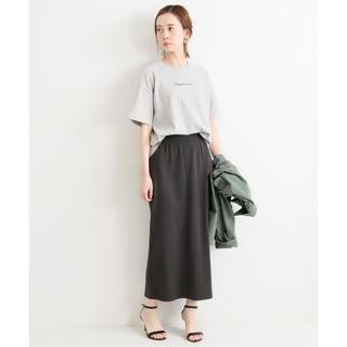 IENA - 未使用/IENA/3/60 cotton ニットスカート◆