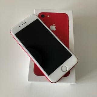iPhone - iPhone7  128GB SIMフリー RED本体