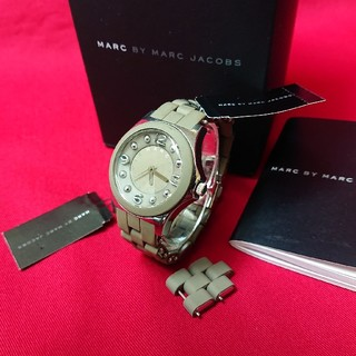 MARC BY MARC JACOBS - MARC BY MARCJACOBS マークジェイコブス腕時計 稼働品 送料無料