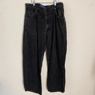 Levi's silver tab black baggy denim 90s