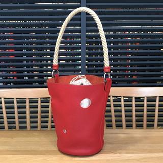 エルメス(Hermes)の超美品 エルメス マンジョワールTPM ハンドバッグ ルージュガランス 赤(ハンドバッグ)