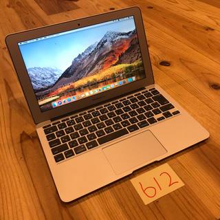 マック(Mac (Apple))のMacBook air 11インチ mid2013 i7 8GB SSD512(ノートPC)