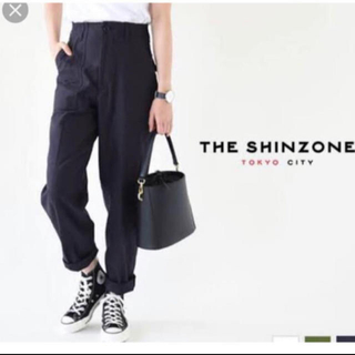 Shinzone - シンゾーン ベイカーパンツ 34 ネイビー