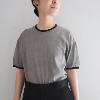 ヤエカ(YAECA)の【期間限定お値下げ中】the hinoki オーガニックコットンリンガーTシャツ(Tシャツ(半袖/袖なし))
