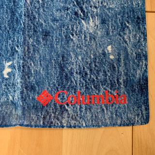 コロンビア(Columbia)のColumbia コロンビア 手ぬぐい 非売品 正方形(登山用品)