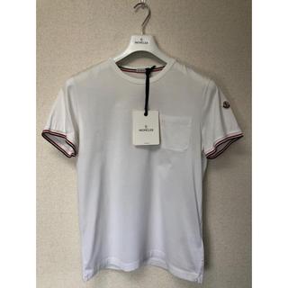 MONCLER - 美品★MONCLER(モンクレール)Tシャツ(ホワイト)タグ付き