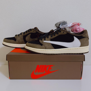ナイキ(NIKE)のAIR JORDAN 1 LOW TRAVIS SCOTT 26.5cm(スニーカー)