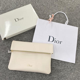 Dior - Dior ディオール ポーチ メイクコスメポーチ ノベルティ クラッチ