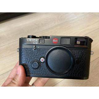 ライカ(LEICA)のLeica m6 Classic ブラック(フィルムカメラ)
