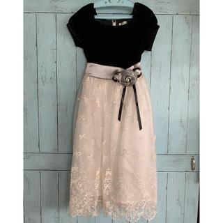 キャサリンコテージ(Catherine Cottage)のCatherine cottage ベロア刺繍ドレス(ドレス/フォーマル)
