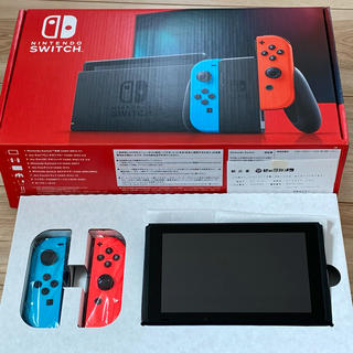 Nintendo Switch - Nintendo Switch本体 ネオンブルーネオンレッド