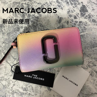 MARC JACOBS - 新品未使用 MARC JACOBS スナップショット 折り財布 グラデーション
