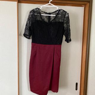 デイジーストア(dazzy store)のDazzy  store  キャバクラ ドレス  花柄  膝丈(ナイトドレス)