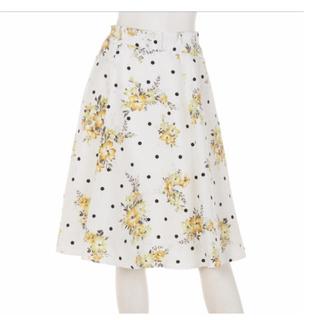 Rirandture - 【お盆価格 8月処分】リランドチュール ドット フラワー ブーケ スカート