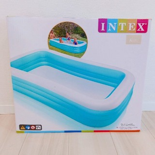 新品 大型 プール 3m 3メートル インテックス INTEX ファミリープール