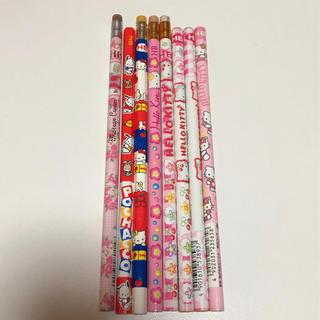 サンリオ(サンリオ)の☆レトロ☆ サンリオ 鉛筆 8本セット(鉛筆)