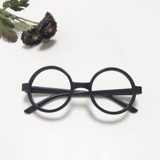 キッズメガネ 黒縁メガネ レンズなし