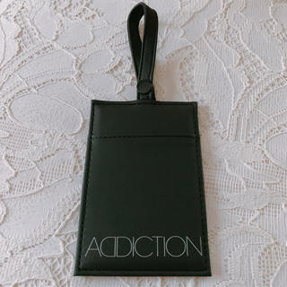 アディクション(ADDICTION)のアディクション ミラー  ♡ カードケース 定期入れ 非売品 送料込み(名刺入れ/定期入れ)