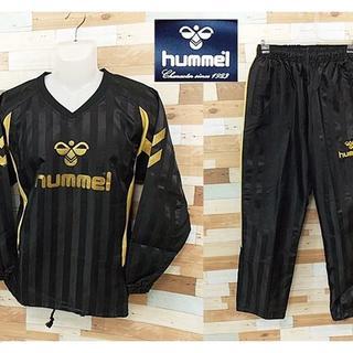 ヒュンメル(hummel)の【hummel】 美品 ヒュンメル ブラックジャージ 上下セット サイズM(ジャージ)