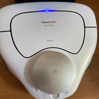 パナソニック(Panasonic)のPanasonic ロボット掃除機 RULO(ルーロ)MC-RSF1000-W(掃除機)