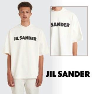 ジルサンダー(Jil Sander)のJIL SANDER モックネック Tシャツ  Lサイズ(Tシャツ/カットソー(半袖/袖なし))