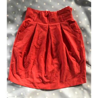 ノエラ(Noela)のノエラ かわいい赤のミニスカート(ミニスカート)