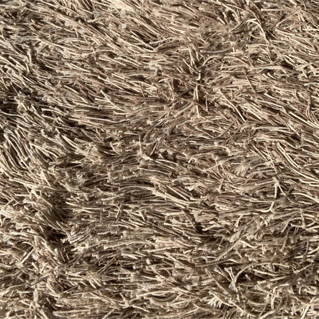 MUJI (無印良品)(ムジルシリョウヒン)の無印良品シャギーラグ100x140cm インテリア/住まい/日用品のラグ/カーペット/マット(ラグ)の商品写真