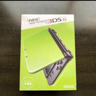 ニンテンドー3DS - Newニンテンドー3DS LL グリーン 新品