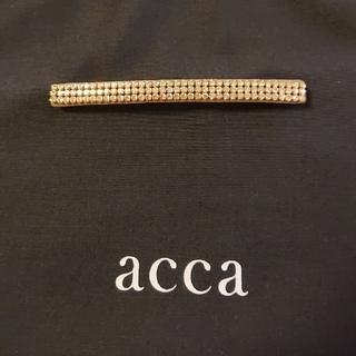 acca - acca ロンバレッタ オードリー ベージュ ゴールド アッカ