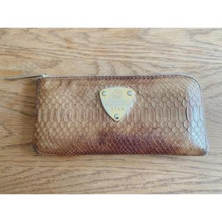 アタオ(ATAO)のATAO 財布 (パイソン)(長財布)